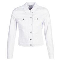 Oblečenie Ženy Džínsové bundy Vero Moda VMHOT SOYA Biela