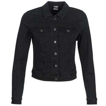 Oblečenie Ženy Džínsové bundy Vero Moda VMHOT SOYA Čierna