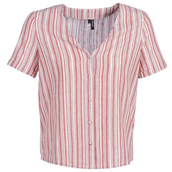 Oblečenie Ženy Blúzky Vero Moda VMESTHER Červená