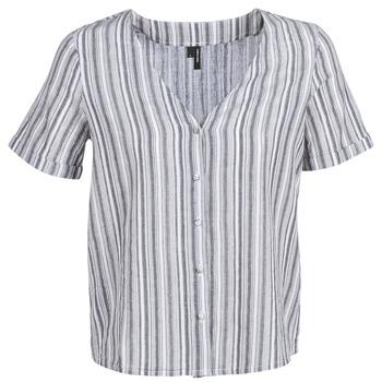 Oblečenie Ženy Blúzky Vero Moda VMESTHER Námornícka modrá / Biela