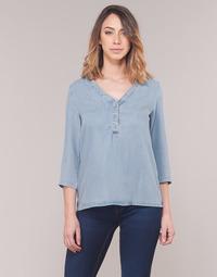 Oblečenie Ženy Blúzky Vero Moda VMTRUDY Modrá