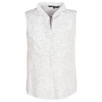 Oblečenie Ženy Blúzky Vero Moda VMERIKA Biela / Čierna