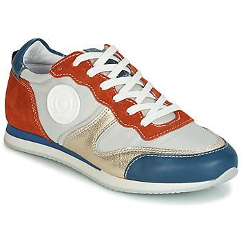 Topánky Ženy Nízke tenisky Pataugas IDOL/MIX Oranžová / Béžová / Modrá
