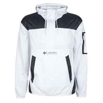 Oblečenie Muži Vetrovky a bundy Windstopper Columbia CHALLENGER WINDBREAKER Biela / Čierna