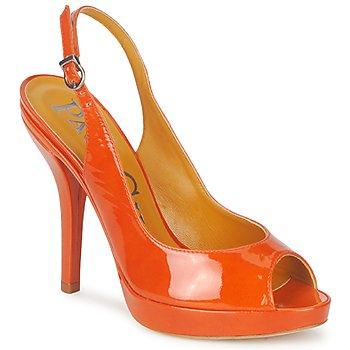 Topánky Ženy Sandále Paco Gil STAR FIZO Oranžová