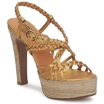 Topánky Ženy Sandále Michel Perry 12716 Zlatá