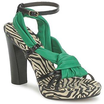 Topánky Ženy Sandále Michel Perry 12709 Zelená smaragdová