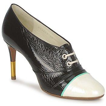 Topánky Ženy Nízke čižmy Michel Perry 12691 Perleťová čierna