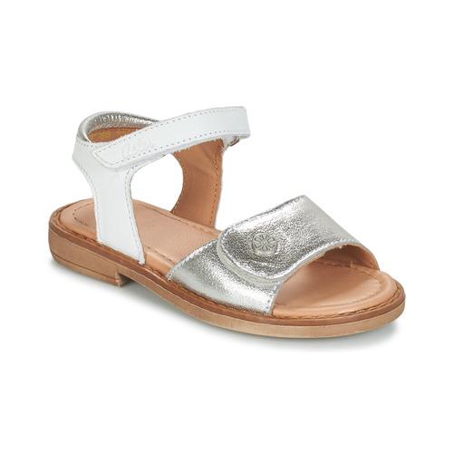 Topánky Dievčatá Sandále Aster TRIXY Strieborná