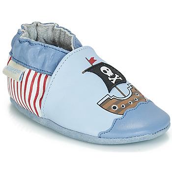 Topánky Chlapci Detské papuče Robeez PIRATE'S BOAT Modrá