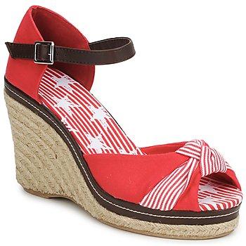 Topánky Ženy Sandále StylistClick PATTY červená