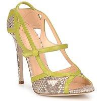 Topánky Ženy Sandále Roberto Cavalli RPS678 Hadí vzor / Zelená
