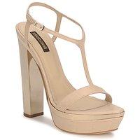 Topánky Ženy Sandále Roberto Cavalli RDS735 Béžová / Svetlá telová
