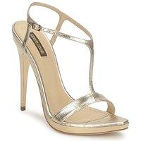 Topánky Ženy Sandále Roberto Cavalli RDS736 Zlatá