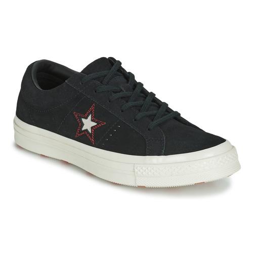 Topánky Ženy Nízke tenisky Converse ONE STAR LOVE IN THE DETAILS SUEDE OX Čierna