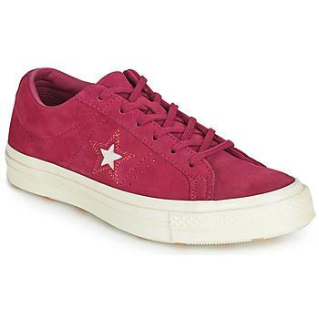 Topánky Ženy Nízke tenisky Converse ONE STAR LOVE IN THE DETAILS SUEDE OX Fuksiová