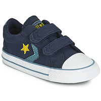 Topánky Chlapci Nízke tenisky Converse STAR PLAYER 2V CANVAS OX Modrá
