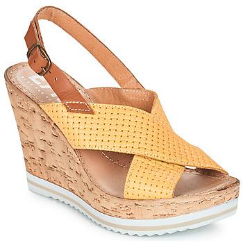 Topánky Ženy Sandále Elue par nous EMPIRE Žltá