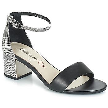 Topánky Ženy Sandále Metamorf'Ose EMBRASA Čierna