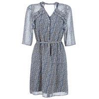 Oblečenie Ženy Krátke šaty One Step FLORUS Námornícka modrá / Viacfarebná