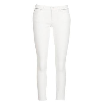 Oblečenie Ženy Džínsy Slim Ikks BN29135-11 Biela