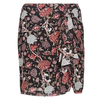 Oblečenie Ženy Sukňa Ikks BN27105-02 Čierna / Viacfarebná