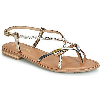 Topánky Ženy Sandále Les Tropéziennes par M Belarbi MONATRES Biela / Zlatá