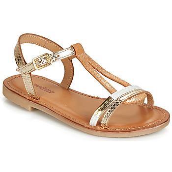 Topánky Dievčatá Sandále Les Tropéziennes par M Belarbi BADA Zlatá / Biela