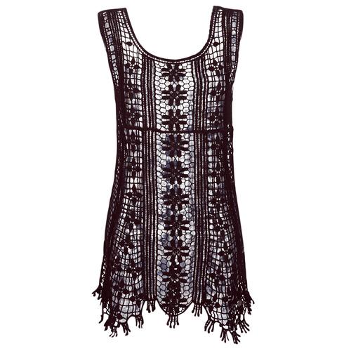 Oblečenie Ženy Krátke šaty Banana Moon JOSY DREAMLAND Čierna