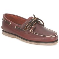 Topánky Muži Námornícke mokasíny Timberland CLASSIC 2 EYE Rootbeer / Smooth