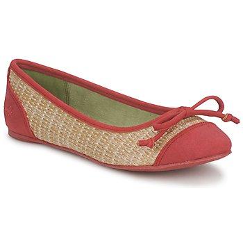 Topánky Ženy Balerínky a babies Blowfish Malibu NITA Červená