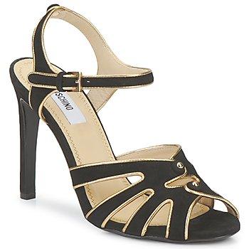 Topánky Ženy Sandále Moschino MA1604 Čierna