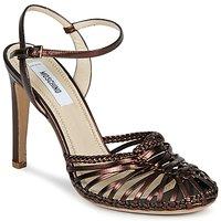 Topánky Ženy Sandále Moschino MA1603 Ebenová