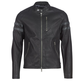 Oblečenie Muži Kožené bundy a syntetické bundy Guess COOL BIKER Čierna