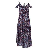Oblečenie Ženy Dlhé šaty Guess BORA Čierna / Viacfarebná