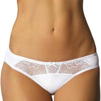 Spodná bielizeň Ženy Klasické nohavičky Gorteks PAMELA / F White Biela