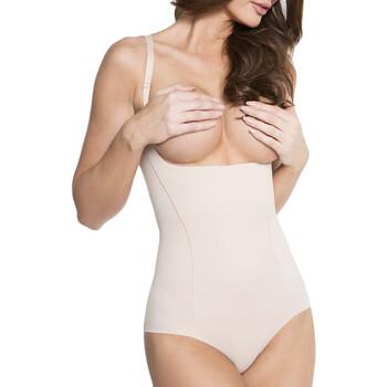 Spodná bielizeň Ženy Body Julimex 219 NATURALNY Béžová