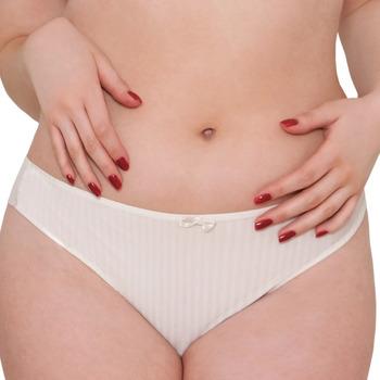 Spodná bielizeň Ženy Klasické nohavičky Curvy Kate CK2605 IVORY Béžová