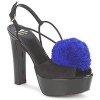 Topánky Ženy Sandále Moschino Cheap & CHIC CA1608 Čierno-modrá / Small