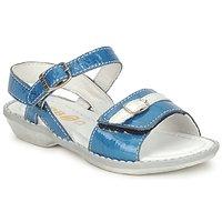 Topánky Dievčatá Sandále GBB CARAIBES FIZZ Modrá / Biela