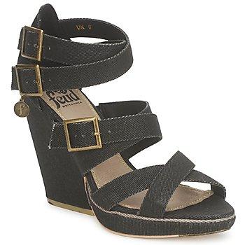 Topánky Ženy Sandále Feud WASP Čierna