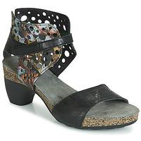 Topánky Ženy Sandále Think ZEG Čierna