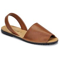 Topánky Ženy Sandále So Size LOJA Hnedá