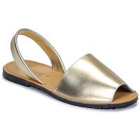 Topánky Ženy Sandále So Size LOJA Zlatá