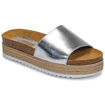Topánky Ženy Šľapky So Size JITRUNE Strieborná