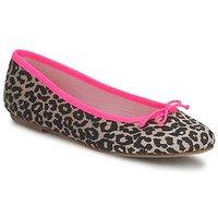 Topánky Ženy Balerínky a babies Cara NEONLEOPARD Leopard