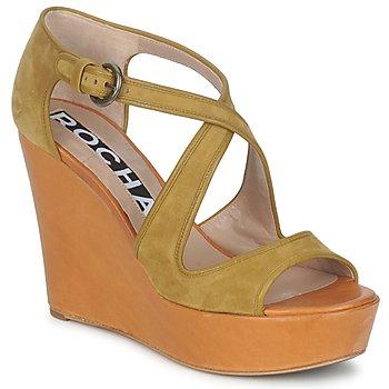 Topánky Ženy Sandále Rochas RO18131 Hnedá