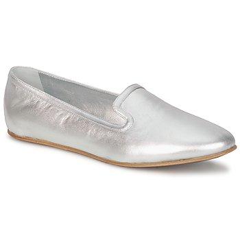 Topánky Ženy Mokasíny Rochas RO18101 Strieborná