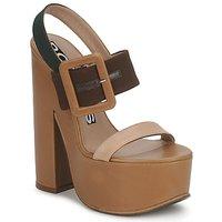 Topánky Ženy Sandále Rochas RO18231 Hnedá / Béžová