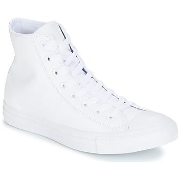 Topánky Členkové tenisky Converse ALL STAR MONOCHROME CUIR HI Biela